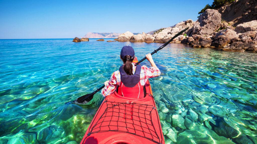 Morské kajaky v Chorvátsku