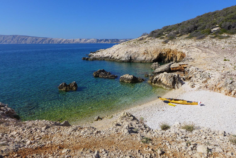 Chorvátsko na morských kajakoch