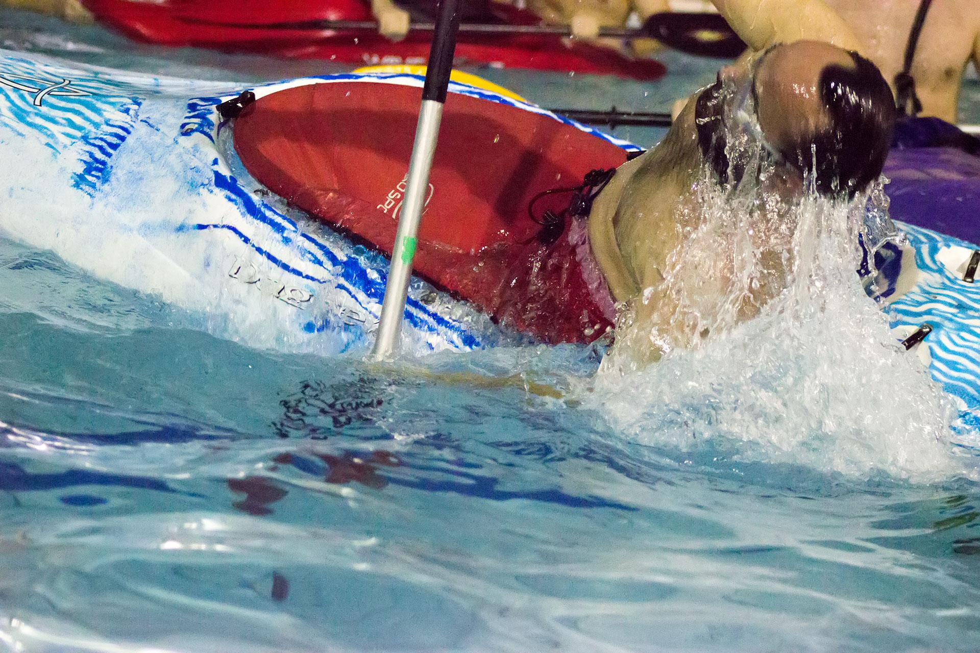 eskimák v bazéne
