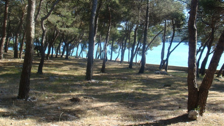 Chorvátsko morské kajaky kemp